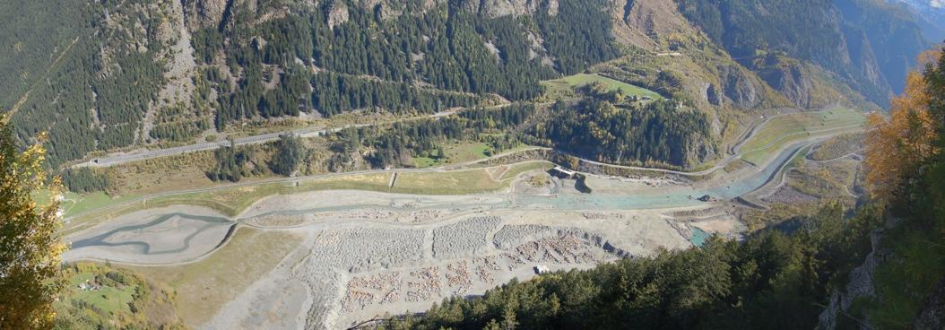 Area di frana della Val Pola - Comune di Valdisotto (SO):